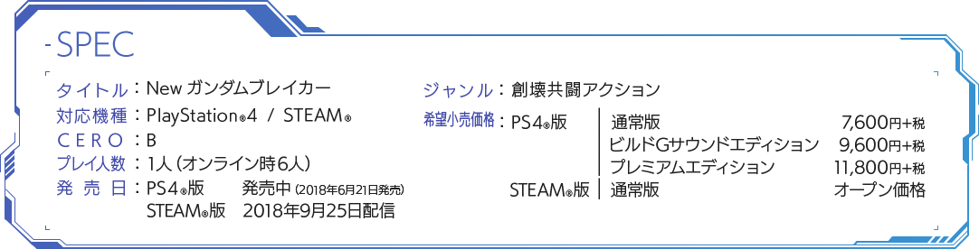 プラットフォーム:PlayStation®4, PlayStation®Vita